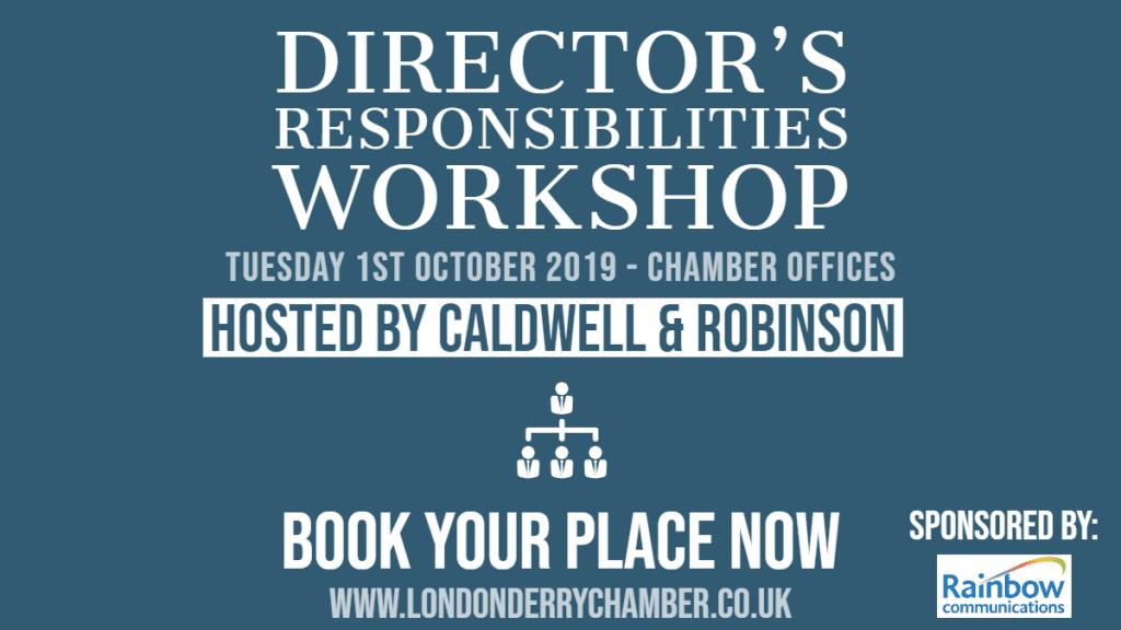 Director's Responsibilities Workshop